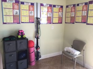 Chiropractic Delray Beach FL waiting area