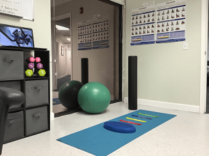 Chiropractic Pompano Beach FL therapy room
